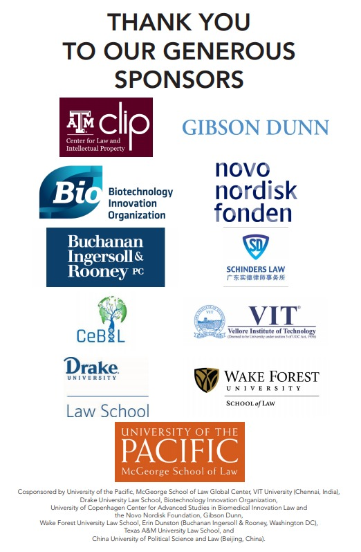 image of conference sponsors